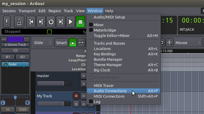 Audio Connection Manager